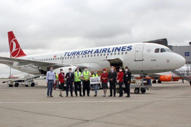 Turkish Airlines возобновила полеты из Харькова