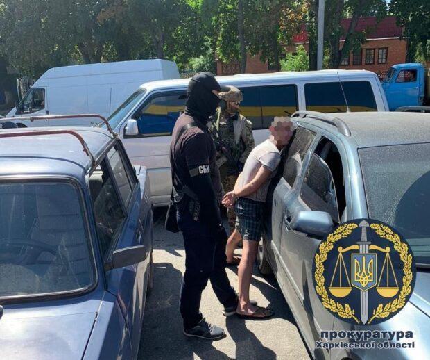 В Харькове задержали мужчину, который привозил и продавал с территории проведения ООС оружие