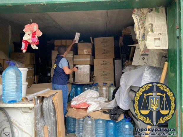 В Харькове изъяли 3,5 тысячи литров спирта и 90 тысяч пачек сигарет с поддельными акцизными марками