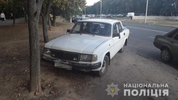 В Харькове мужчине стало плохо за рулем