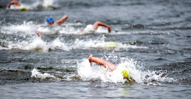 Харьковчане стали чемпионами Украины по плаванию на открытой воде