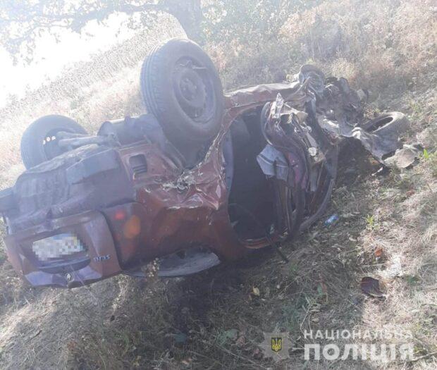 В Харьковской области в результате аварии пострадали двое несовершеннолетних
