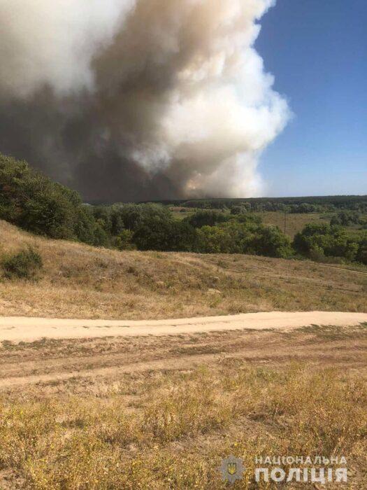 Масштабные пожары на Харьковщине: полиция открыла уголовное дело