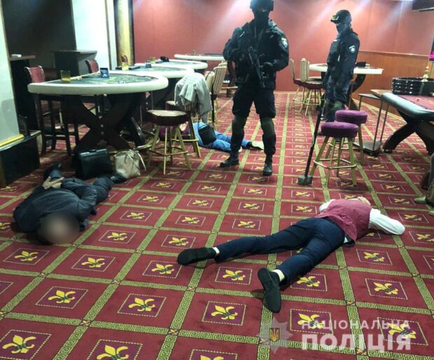 В Харькове правоохранители пресекли деятельность подпольного казино