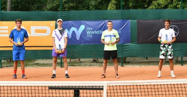 Харьковский теннисист выиграл парный титул на международных соревнованиях