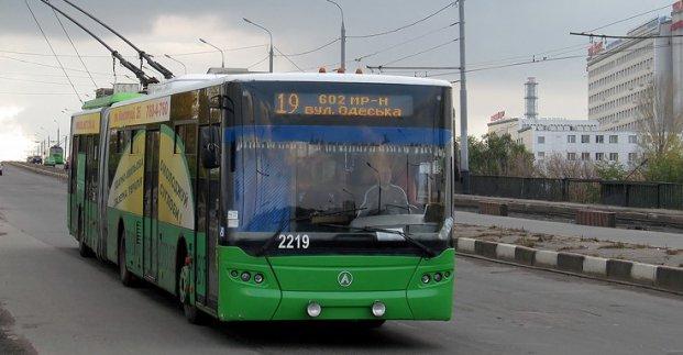 Троллейбус №19 временно не ходит