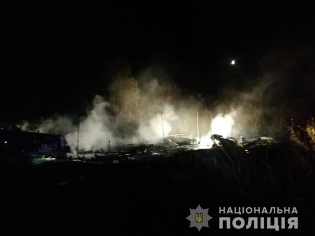 МВД сообщает о 18 погибших в результате авиакатастрофы в Чугуеве