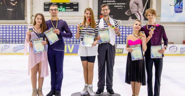 Харьковские фигуристы победили на турнире в Киеве