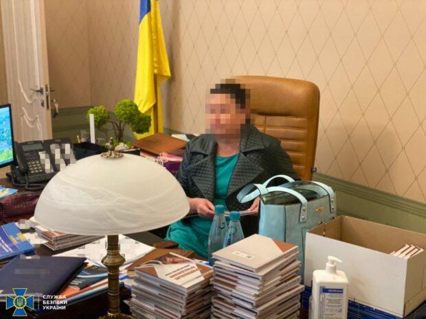 СБУ разоблачила председателя Харьковского окружного административного суда на передаче взятки