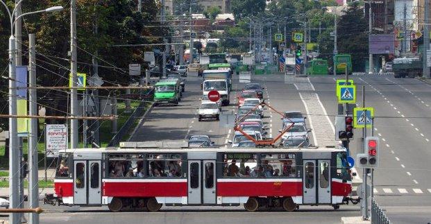 В среду трамвай №27 не будет курсировать по улице Гольдберговской