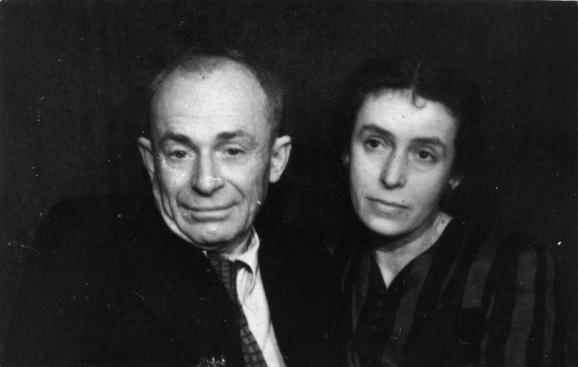 Варвара Маслюченко и Остап Вишня
