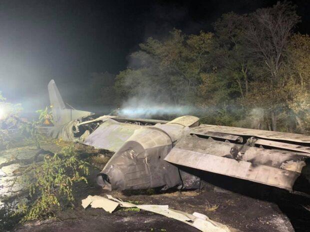 В авиакатастрофе в Чугуеве 22 погибших - МВД