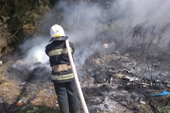 Открытого огня на месте пожара в Двуречанском районе нет