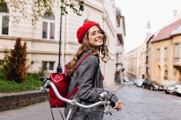 женский рюкзак на прогулки и в небольшие путешествия