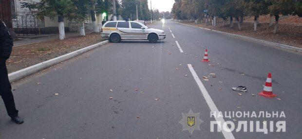 Под Харьковом ищут водителя, который насмерть сбил пешехода и сбежал с места аварии