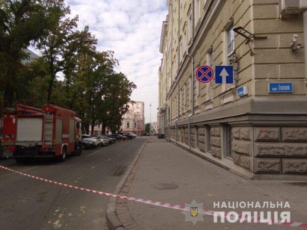 В Харькове в суде искали бомбу