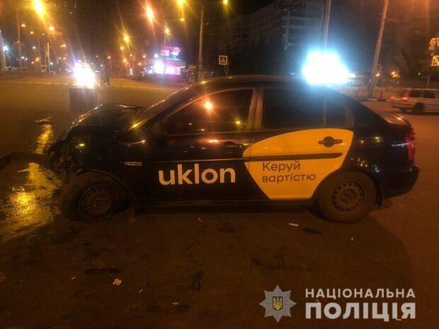 В Харькове в результате аварии пострадали два человека