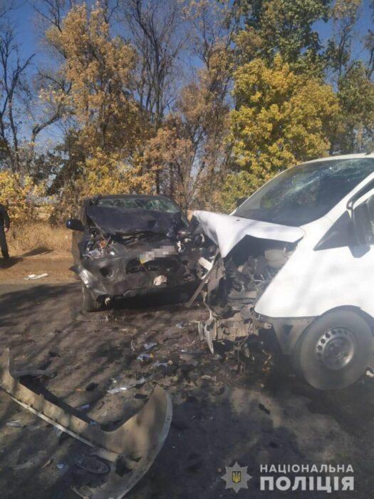 Под Харьковом в результате ДТП погиб пассажир одного из автомобилей