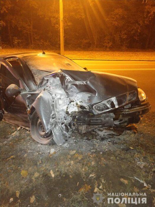 В Харькове в результате аварии пострадало два человека