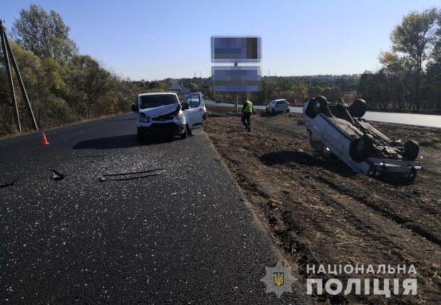 Под Харькове в результате ДТП пострадали двое пожилых людей