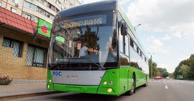 На Северную Салтовку будут ходить троллейбусы с автономным ходом