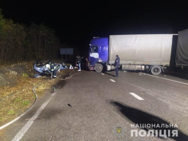 В результате аварии под Харьковом погиб пожилой мужчина