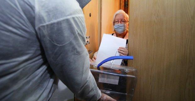 Больные коронавирусом могут проголосовать дома