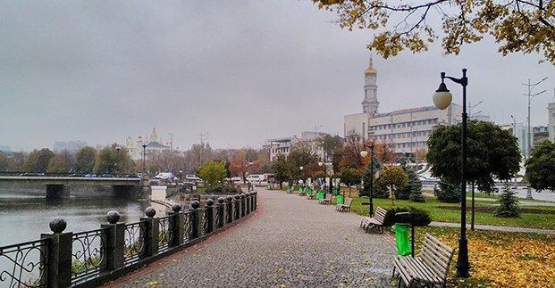 В выходные в Харькове - до 14 градусов тепла и дождь
