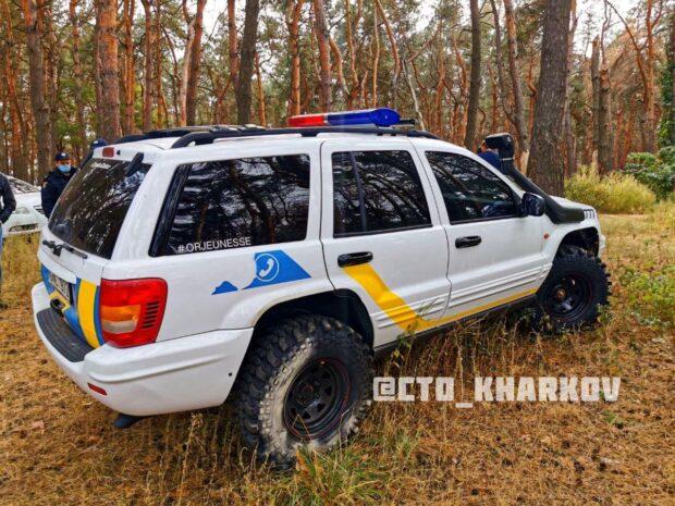 В Харькове у блогера забрали автомобиль за символику похожую на полицейскую