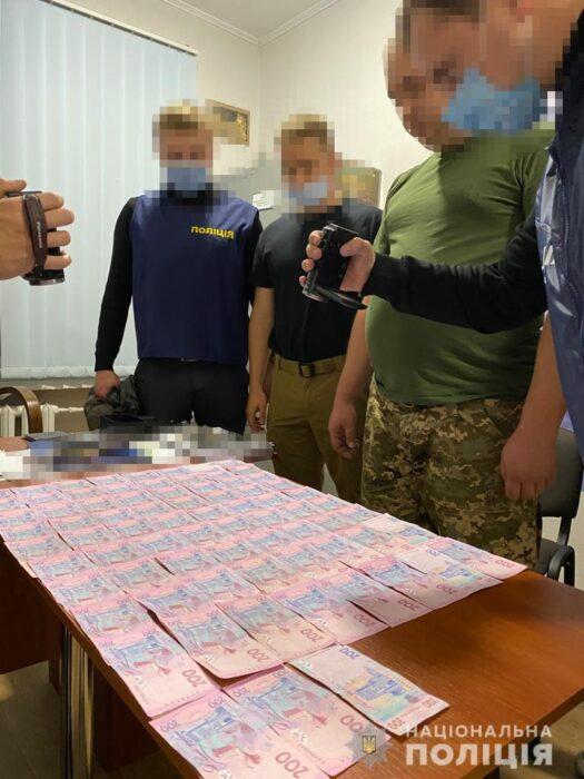 На Харьковщине разоблачили на взятке заместителя начальника штаба одной из воинских частей