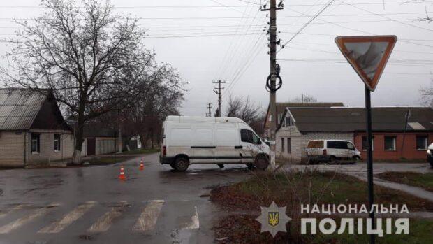Под Харьковом в результате аварии пострадала женщина-водитель и ее 7-летняя дочь