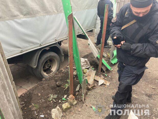 В Харькове во двор частного дома бросили РГД-5