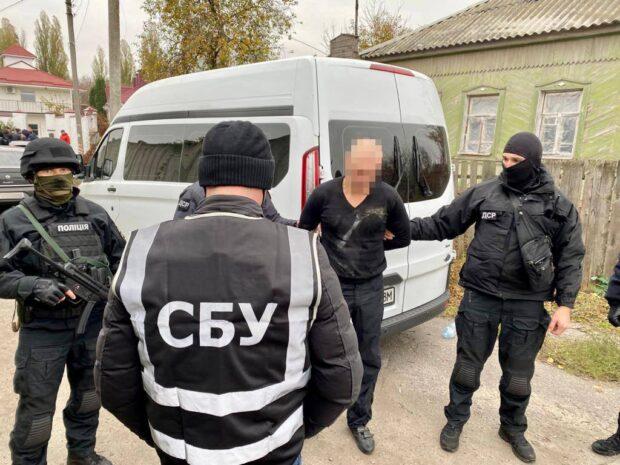 СБУ задержала «смотрящего» за Харьковской областью, который почти 4 года скрывался от правосудия