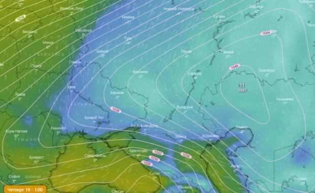 Завтра в Харьковской области местами до 15 градусов мороза
