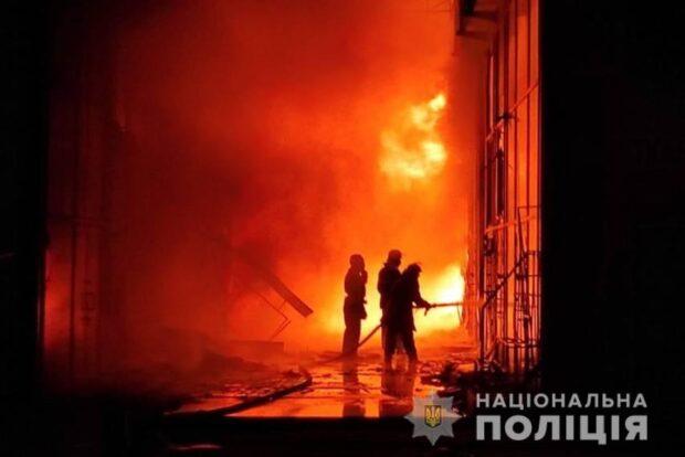 Масштабный пожар на «Барабашова»: полиция открыла уголовное дело