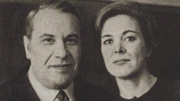 Марк Бернес и Паола Линецкая
