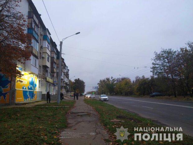В Харькове благодаря свидетельнице преступления, полиция задержала злоумышленника, который едва не зарезал мужчину