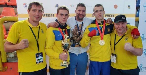 Харьковские боксеры стали чемпионами Европы среди молодежи