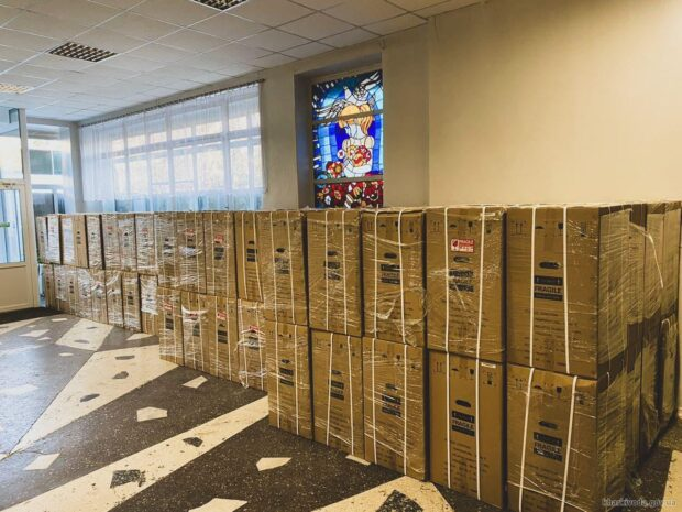 Харьковщина получила кислородные концентраторы, позволяющие обеспечить потребности более 600 пациентов