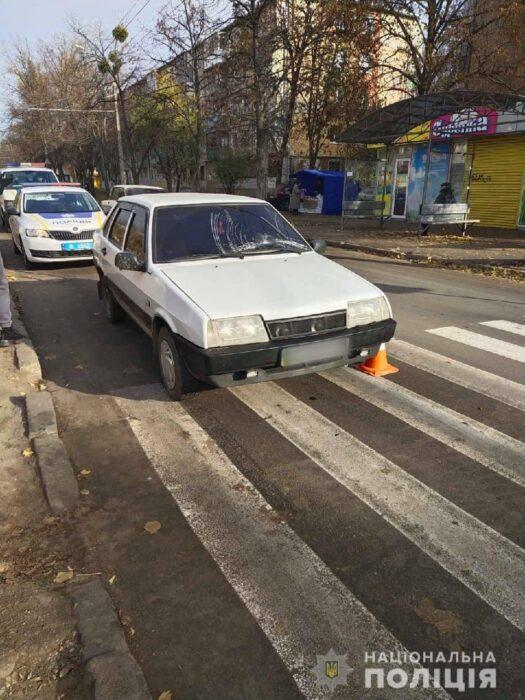 В Харькове на пешеходом переходе сбили 7-летнего ребенка