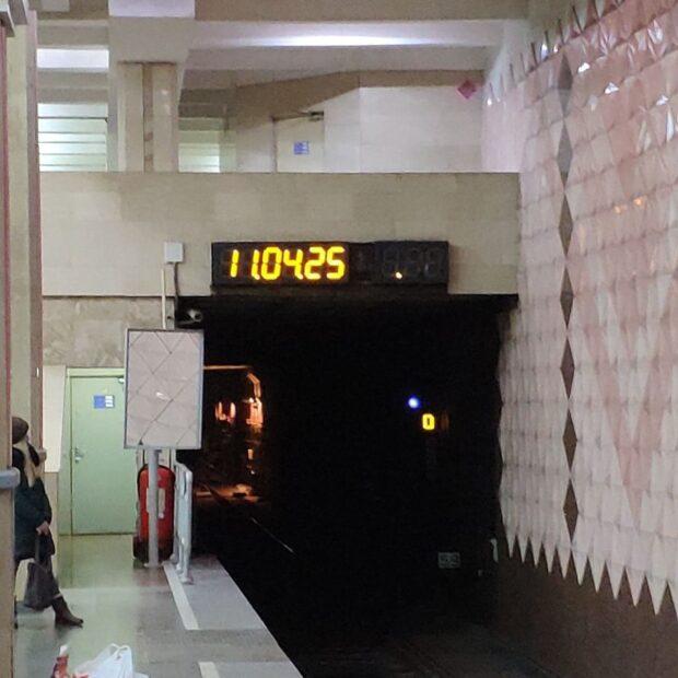 """На станции метро """"Ботанический сад"""" девушка прыгнула под поезд"""