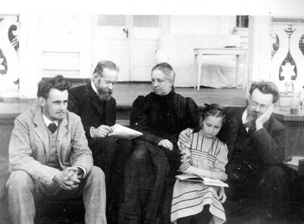 Владимир Вернадский и его семья