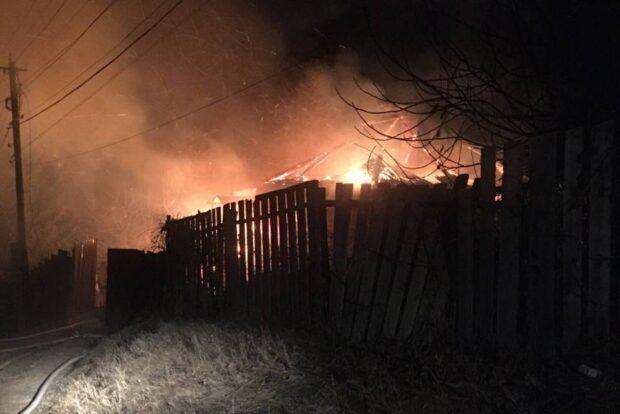 Под Харьковом на пожаре нашли тело женщины