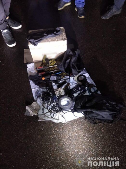 Под Харьковом полицейские изъяли у мужчины оружие