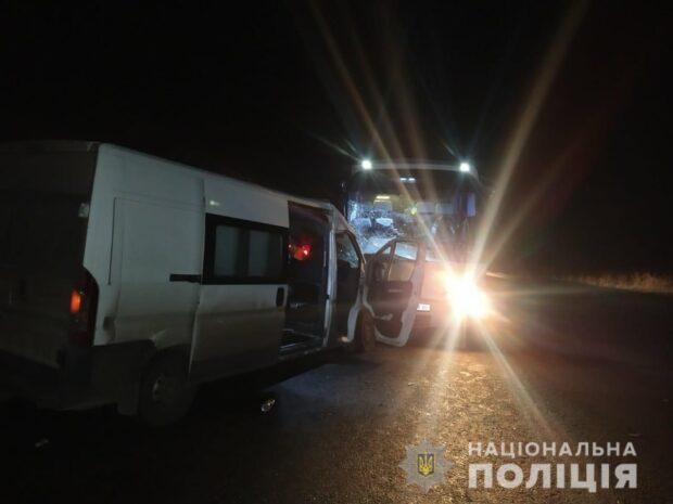 В автокатастрофе под Харьковом пострадали пять человек