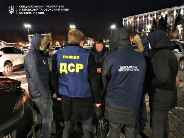 В Харькове на взятке задержали майора военкомата
