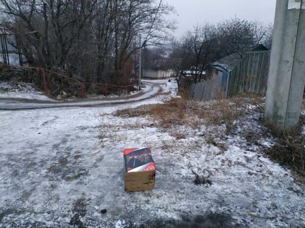 В Харькове полицейские нашла остатки фейерверка, который запускали на похоронах Кернеса