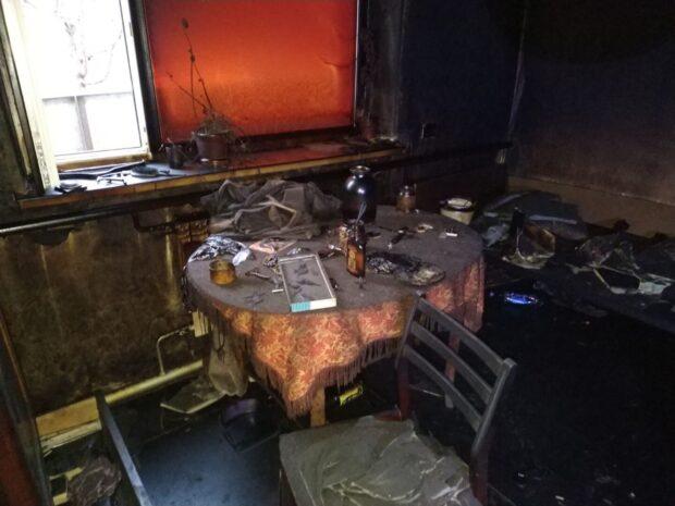 Под Харьковом в результате пожара погиб мужчина