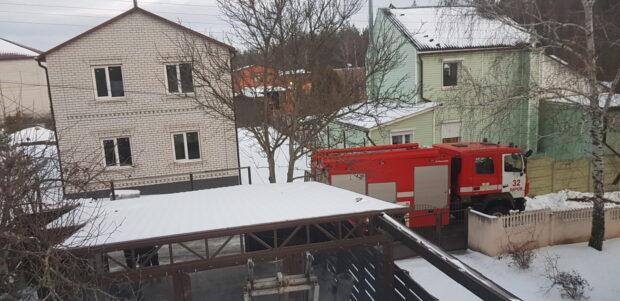 В поселке под Харьковом горела баня