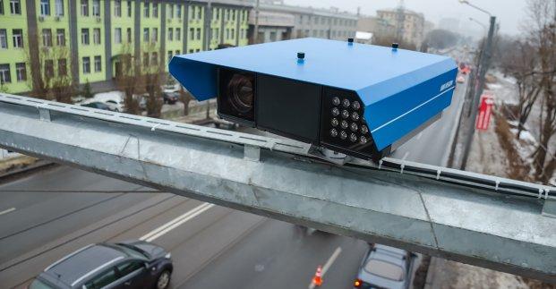 В Харькове установили первые камеры, фиксирующие нарушение скорости